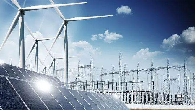 Only 10.5 GW of wind and 24.3 GW of PV are required to achieve the 70% renewable target in 2030.